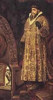 Иван IV Грозный - первый русский царь